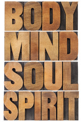 Fototapeta Do Spa body, mind, soul and spirit