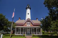 Historic St. Simon Light House...