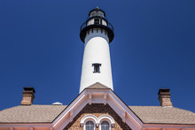 St. Simon Light House In Georgia