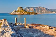 Ancient Ruins On Kos, Greece