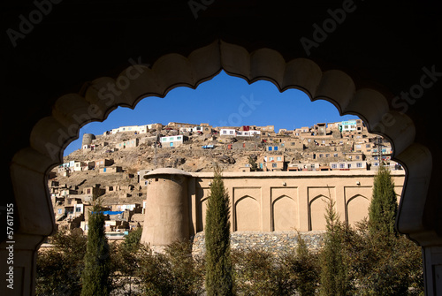 Photo Afghani Village on the Hill