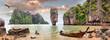 canvas print picture - James Bond Island, Phang Nga, Thailand