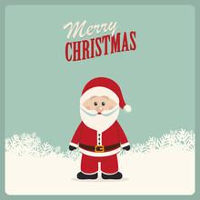 Santa Claus Winter Merry Christmas