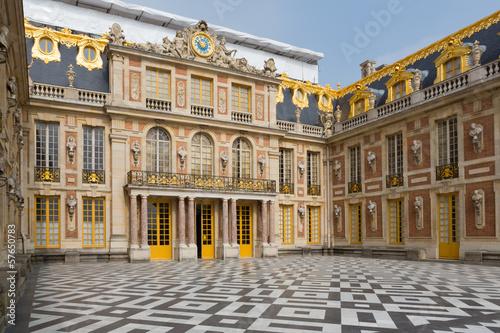 Poster Artistique Versailles Palace Entrance