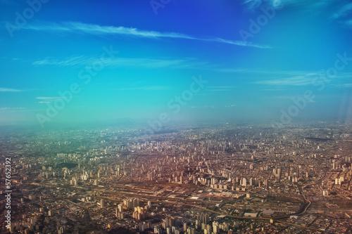 Staande foto Rotterdam Aerial view of Sao Paulo city - Brazil