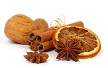 Christmas Decoration: Orange, Anise, Nuts And Cinnamon