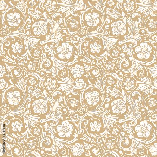 Tapety Barokowe  vintage-klasyczny-ozdobny-bezszwowy-wzor-wektorowy