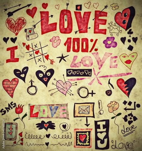 kocham-doodle-zestaw-retro-elementy-projektu