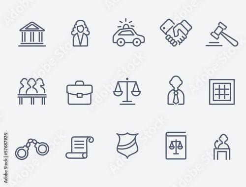 Photo Law icons