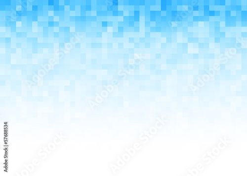 Fotobehang - Abstract gradient pixel background