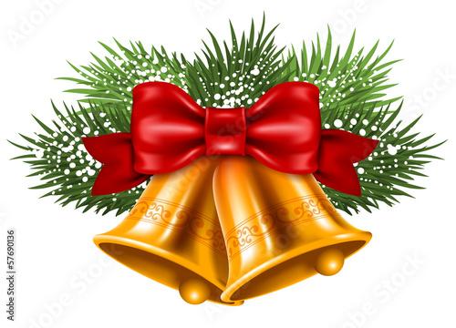 Fototapeta Christmas bells
