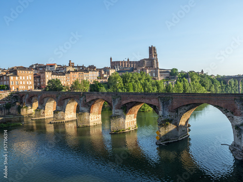 Photo Albi, bridge over the Tarn river