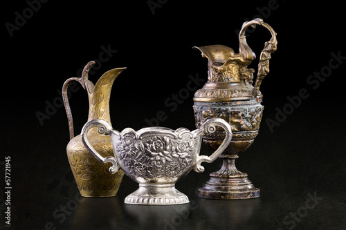 Fotografie, Obraz  Antique art objects