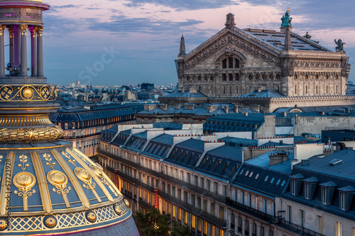 Fotografie, Obraz  Opera, Paříž