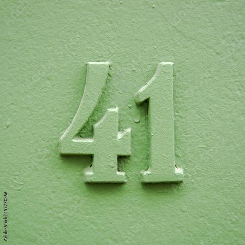 Fotografia  Number 41