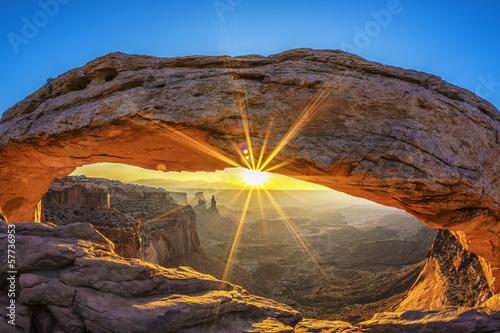 Poster Parc Naturel Sunrise at Mesa Arch