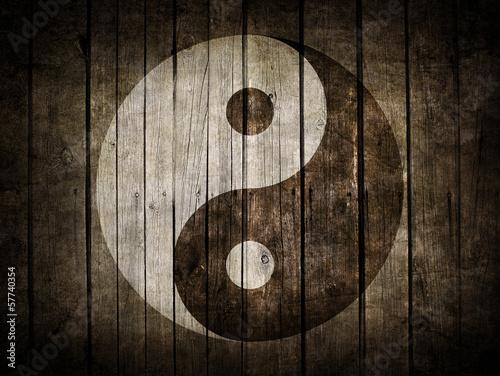 Fototapeta orientalna   yin-i-jang