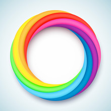 Rainbow Colored Ring