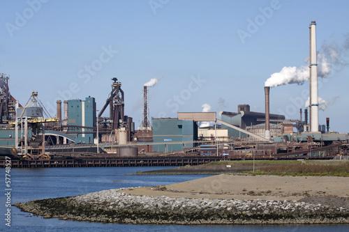 Fotografie, Obraz  Dutch steel industry