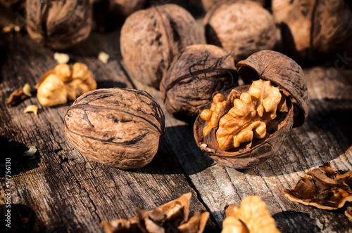 Keuken foto achterwand Baobab Opened walnut