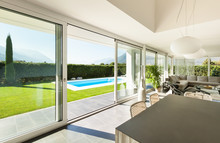 Modern Villa, Interior, Dining Table View