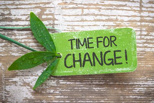 Fotografía  Time for Change