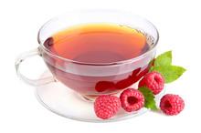 Raspberries Tea
