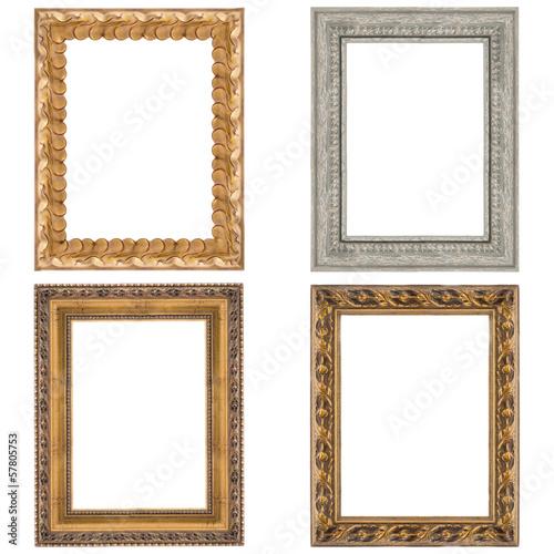 Fototapeta Four picture frames obraz na płótnie