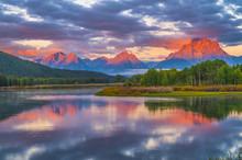Beautiful Sunrise In The Mount...