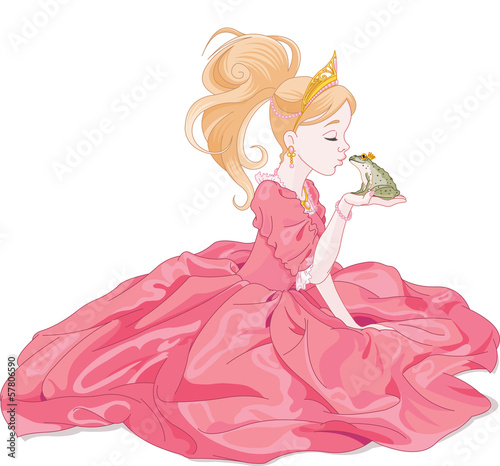 Princess Kissing Frog