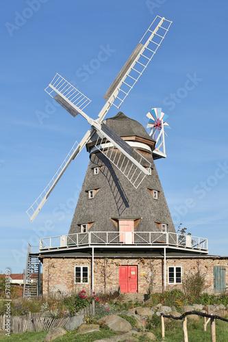 Fotografie, Tablou  Mahnkesche Mühle Stralsund