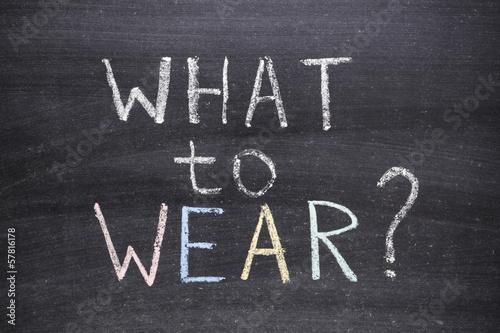 Foto op Plexiglas Dragen what to wear