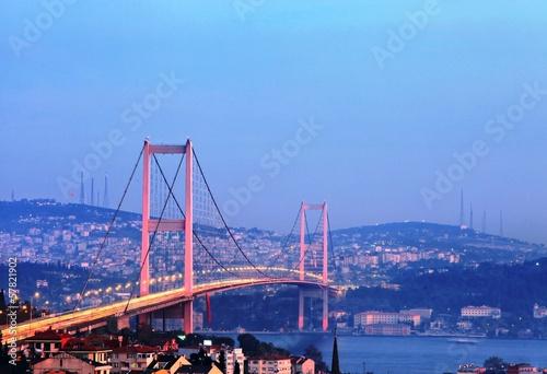 Fotografia  Istanbul Bosphorus Bridge