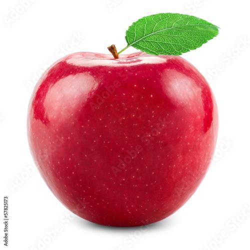 Fotografie, Obraz  Fresh red apple