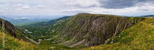 Fototapeta Sniezne Kotly valley in Karkonosze mountains, Poland obraz