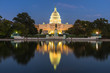 canvas print picture - US Capital building, Washington DC, USA
