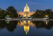 US Capital Building, Washingto...