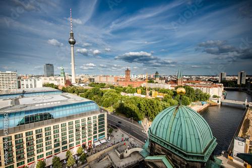 Keuken foto achterwand Berlijn Skyline of Berlin, Germany