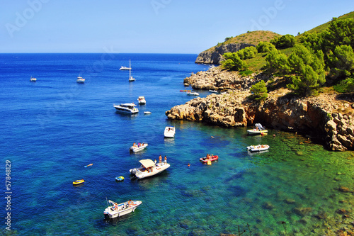 Cala Montgó. Estartit. Costa Brava. Girona. Spain. Europe Canvas Print