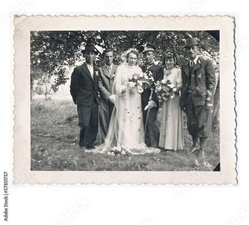 Fotografia  Wedding day - circa 1940