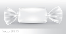 White Rectangular Candy Package For New Design