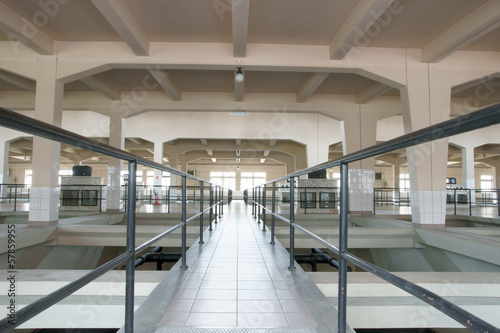 Staande foto Industrial geb. Industrial space, Industrial hall