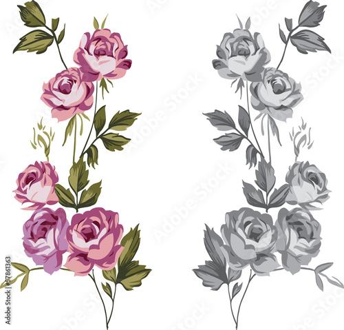 roze-ozdobne