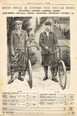 Fototapeta na wymiar Costume de vélo