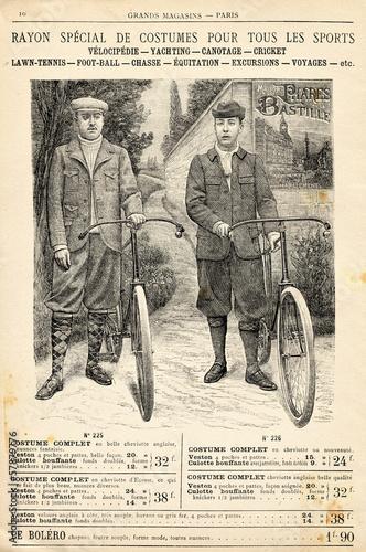 Obrazy na płótnie Canvas Costume de vélo
