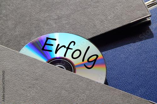 Photo  Ordner und CD Erfolg