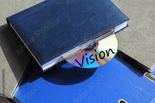 Buch mit CD Vision Poster