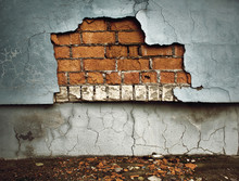 Old Broken Wall