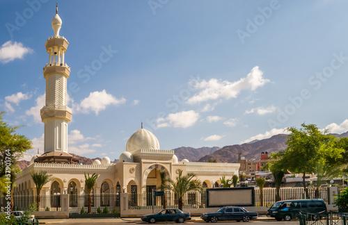 Stampa su Tela  Sharif Hussein Bin Ali Mosque in Aqaba