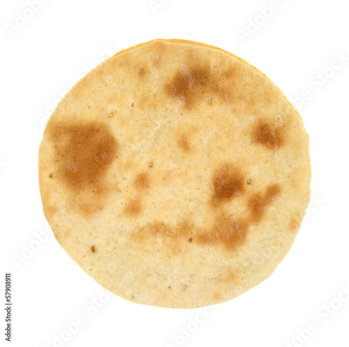 A very small cooked pizza crust Fototapet